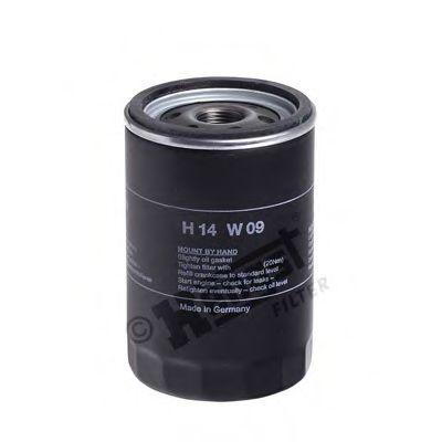 Фильтр масляный (пр-во Hengst)                                                                        арт. H14W09