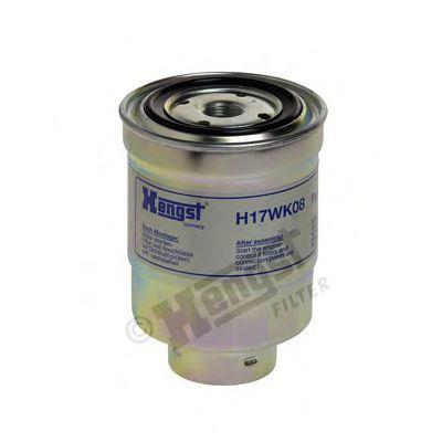 Фильтр топливный NISSAN (пр-во Hengst)                                                               HENGSTFILTER H17WK08