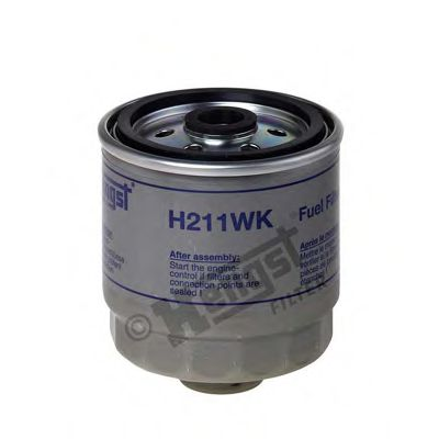 Фильтр топливный HYUNDAI (пр-во Hengst)                                                               арт. H211WK