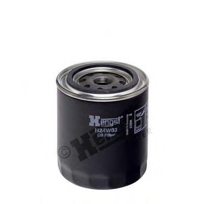 Фильтр масляный (пр-во Hengst)                                                                        арт. H24W03