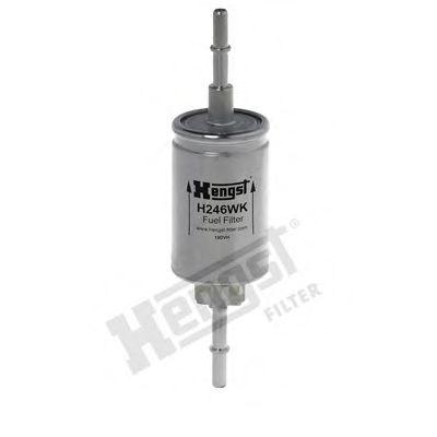 Фильтр топливный FORD FIESTA V, MAZDA 2 1.25-2.0 02- (пр-во Hengst)                                   арт. H246WK