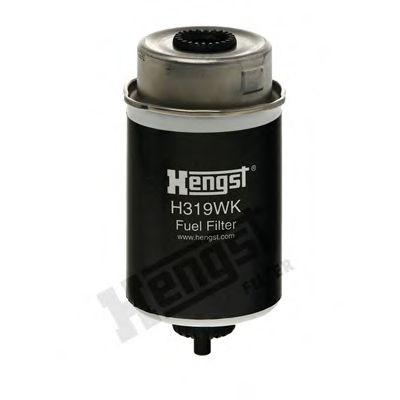 Фильтр топливный FORD TRANSIT 2.0-2.4 DI 00-06 (пр-во HENGST)                                        HENGSTFILTER H319WK