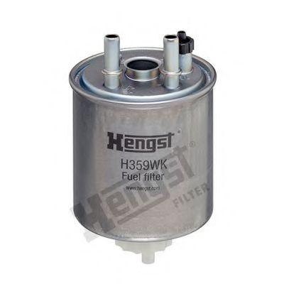 Фильтр топливный RENAULT KANGOO 08-, LAGUNA III 1.5-2.0 DCI 07- (пр-во HENGST)                       HENGSTFILTER H359WK