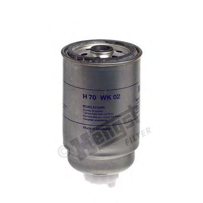 Фильтр топл. DUCATO, IVECO (TRUCK) (пр-во Hengst)                                                     арт. H70WK02