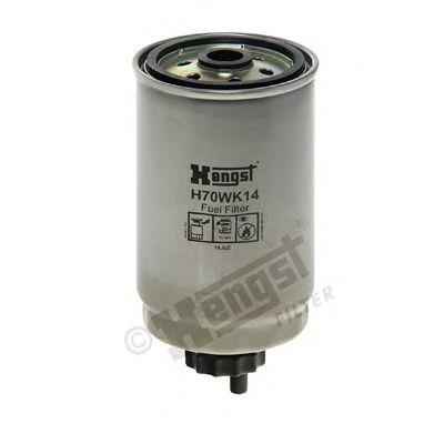 Фильтр топливный KIA HYUNDAI (пр-во Hengst)                                                           арт. H70WK14