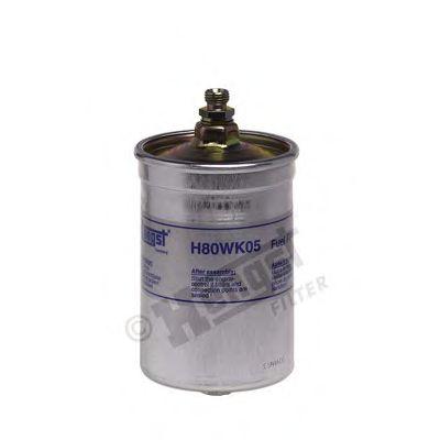 Фильтр топливный MB 190, 124 84-93 (пр-во Hengst)                                                    HENGSTFILTER H80WK05