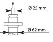 1400kg Ам-тор перед. масл. PSA Jumper 94- /Boxer 94- //Fiat Ducato 94-  KAYABA 635806