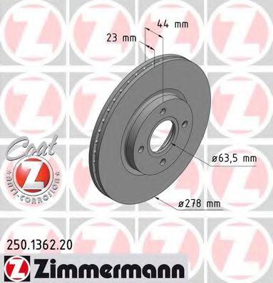 Гальмiвнi диски Coat Z  арт. 250136220