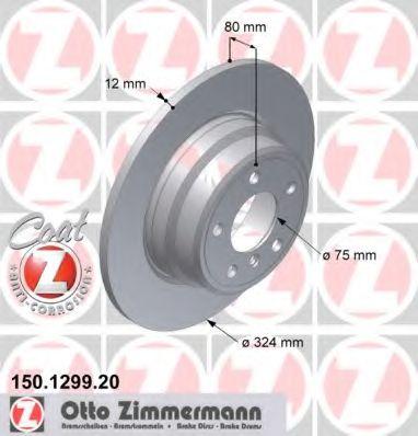 Гальмiвнi диски  арт. 150129920