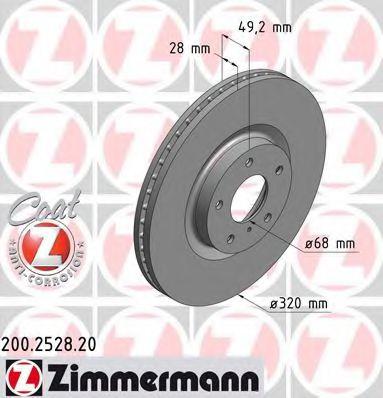 Гальмiвнi диски  арт. 200252820