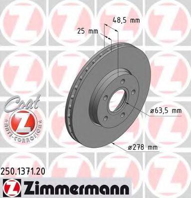Гальмiвнi диски  арт. 250137120