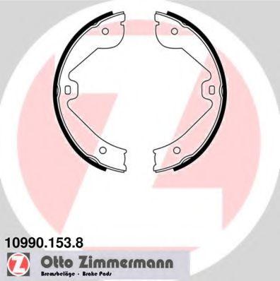 Барабанні гальмівні колодки Audi A7/Mercedes GL-Cl ZIMMERMANN 109901538