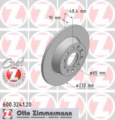 Гальмiвнi диски ZIMMERMANN 600324120