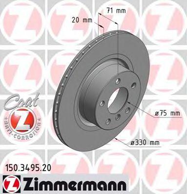 Гальмiвнi диски Coat Z  арт. 150349520