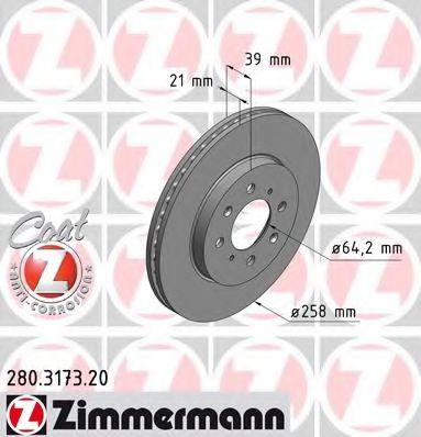 Гальмiвнi диски Coat Z  арт. 280317320