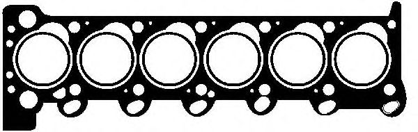 Прокладка головки Bmw 2,4D/TD (M21) 85> GLASER H1112510