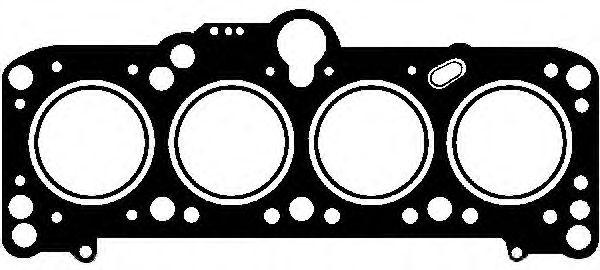 3! Прокладка головки VW 1,6D/TD 85- GLASER H2267420