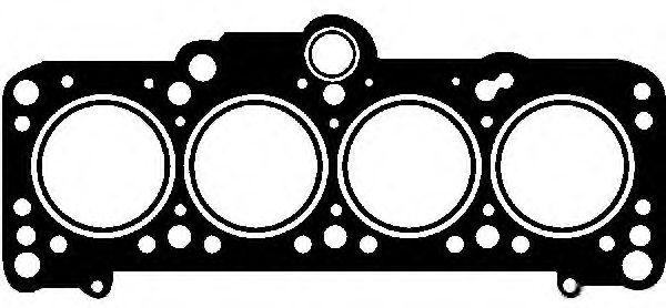 Прокладка головки VW Golf/Vento/Passat 2,0 91> GLASER H5015500