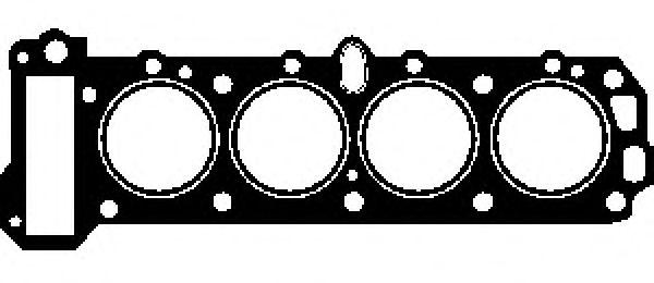 Прокладка головки Opel Omega 2,3 D/TD GLASER H2280320