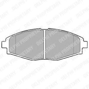 Гальмівні колодки, дискові  арт. LP1390