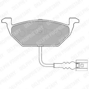 Дисковые тормозные колодки, комплект JP GROUP арт. LP1514