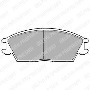 Тормозные колодки  арт. LP704