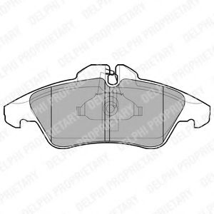 Гальмівні колодки дискові MB/VW Sprinter/Vito/LT28/35 >>06