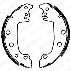 Комплект тормозных колодок LPR арт. LS1721
