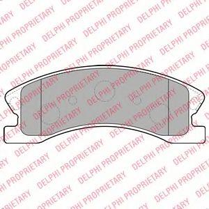 Тормозные колодки  арт. LP1906