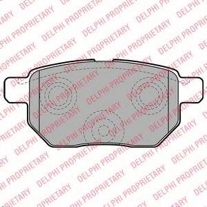 Гальмівні колодки, дискові DELPHI LP2105