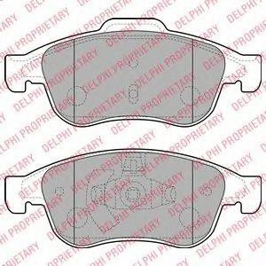 Гальмівні колодки дискові DACIA/RENAULT Duster/Megane
