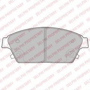 Тормозные колодки  арт. LP2170