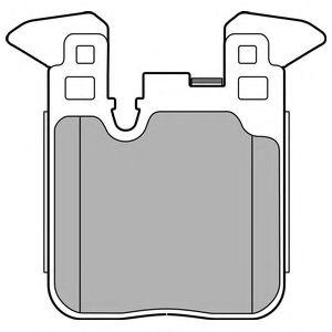 Гальмівні колодки, дискові  арт. LP2660