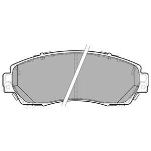DELPHI HONDA Тормозные колодки передн.CR-V IV 12- DELPHI LP2710