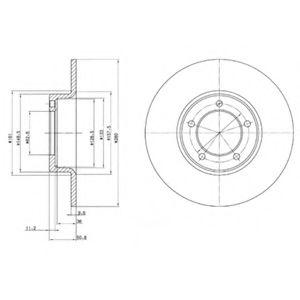 Тормозной диск  арт. BG2021