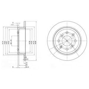 Гальмівний диск  арт. BG2538