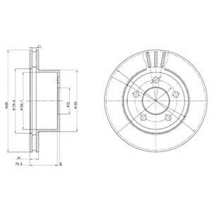 Гальмівні(тормозні) диски  арт. BG3533