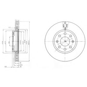 Гальмівний диск ABE арт. BG4004