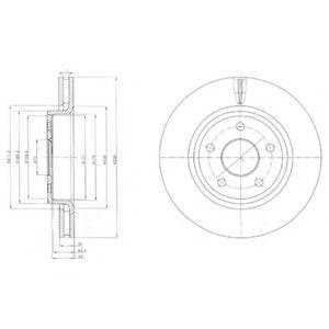Гальмівні(тормозні) диски  арт. BG9058