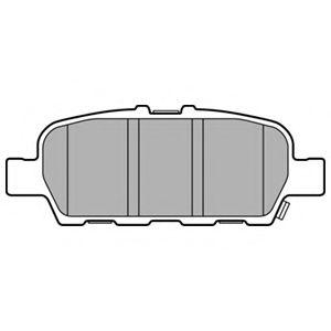 Гальмівні колодки, дискові  арт. LP3158