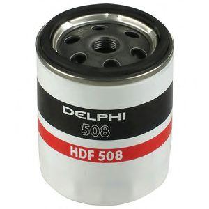 DELPHI MITSUBISHI Фильтр топливный Carisma 1.9TD,RENAULT 1,9-2,5 VOLVO S40/V40 DELPHI HDF508