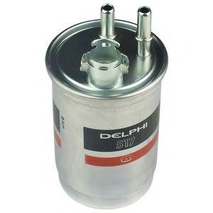 DELPHI FORD Фильтр топливный диз.(с подогр.2 труб.) 1,8TD: Fiesta, Focus 99- DELPHI HDF517