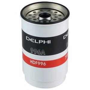 DELPHI FORD Фильтр топлива Transit 2.5 D/TD DELPHI HDF996