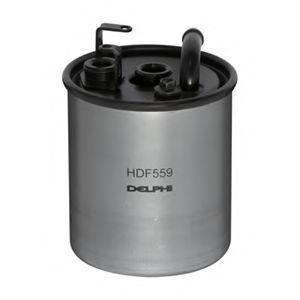 DELPHI DB Фильтр топлива A168,Sprinter,Vito 1.7/2.2CDI 98- DELPHI HDF559