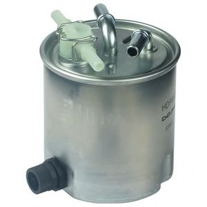 DELPHI NISSAN Фильтр топливный с датч.воды Qashqai,X-Trail 2.0dCi 07- DELPHI HDF660