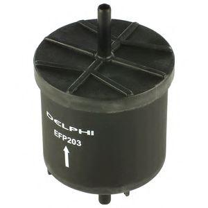 DELPHI FORD Фильтр топливный Escort, Mondeo 1.6/1.8/2.0, Fiesta DELPHI EFP203