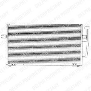 Радиатор кондиционера DELPHI TSP0225143