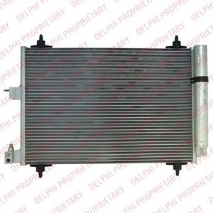 DELPHI CITROEN Радиатор кондиционера Berlingo 96- DELPHI TSP0225411