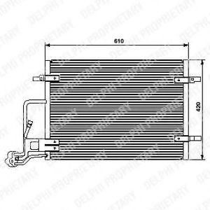 Радиатор кондиционера DELPHI TSP0225453