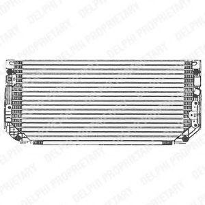 Радиатор кондиционера DELPHI TSP0225479